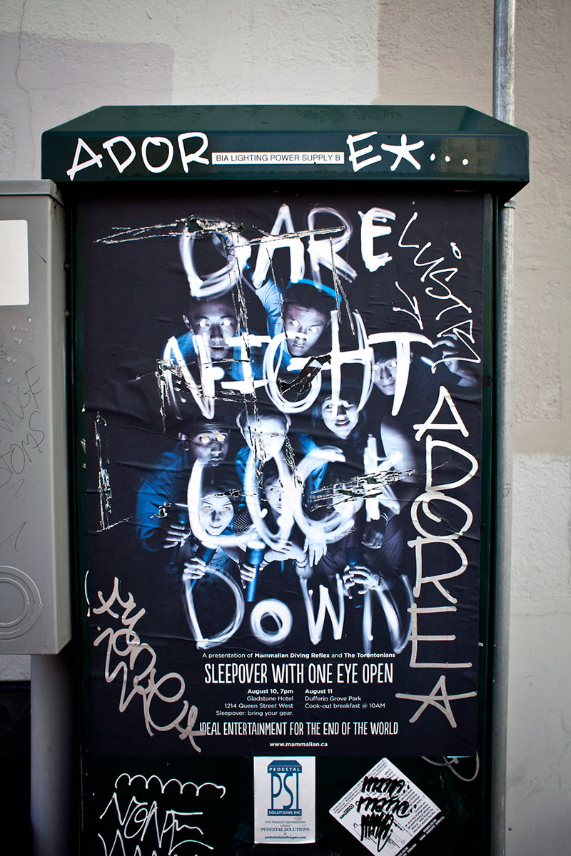 Dare Night Lock Down Poster