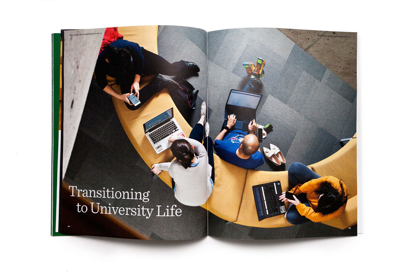 New College Student Handbook Tearsheet