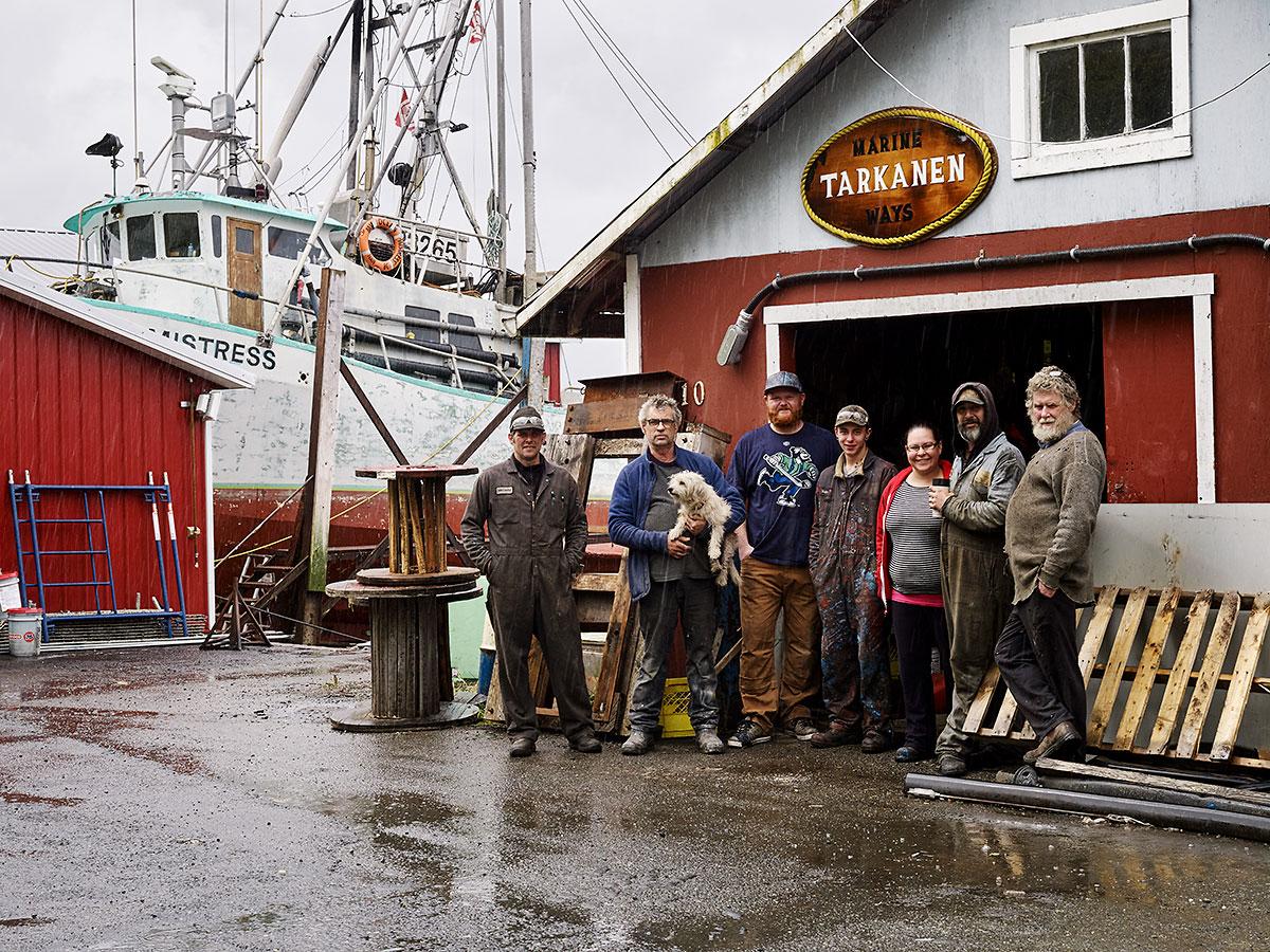 Tarkanen Marine Ways, Sointula, British Columbia