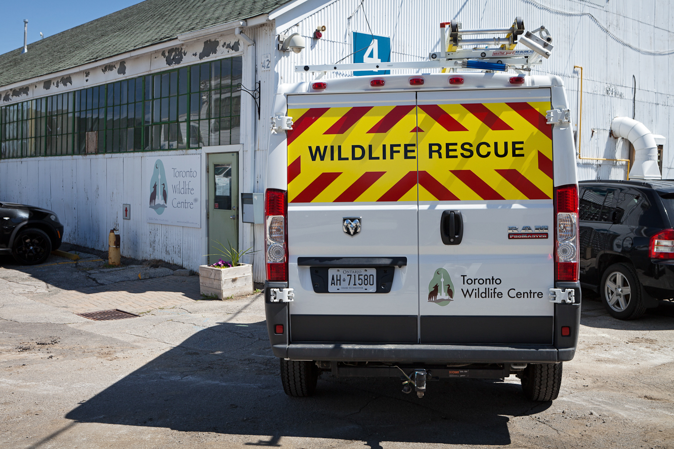 Toronto Wildlife Centre rescue team van