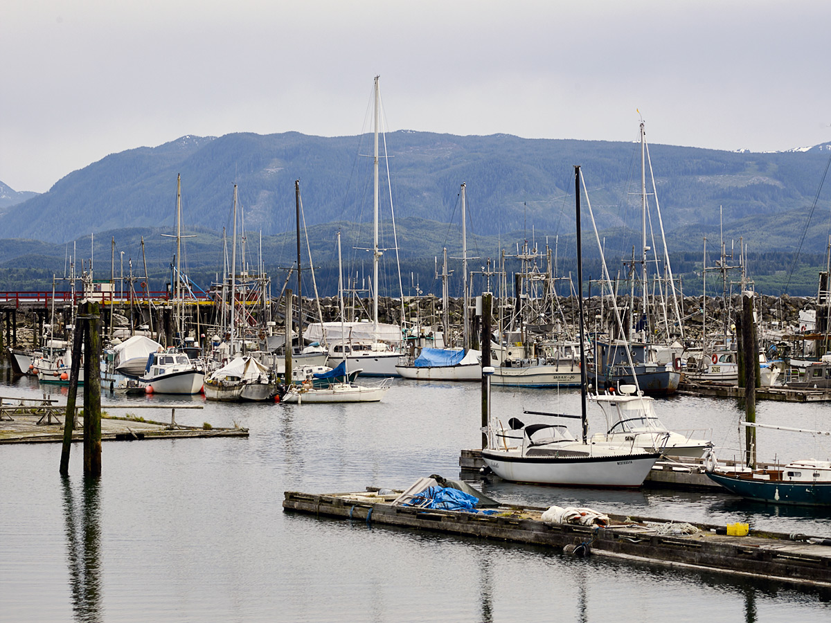 Harbour, Sointula, British Columbia