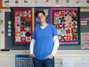 Teacher Shannon Greene at The Grove Community School