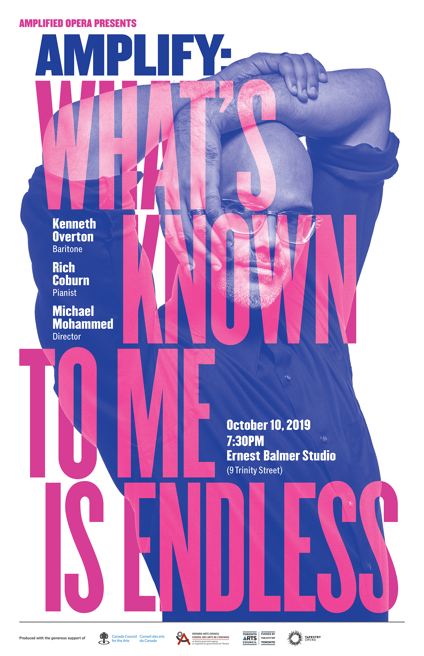 Poster for What's Known to me is Endless