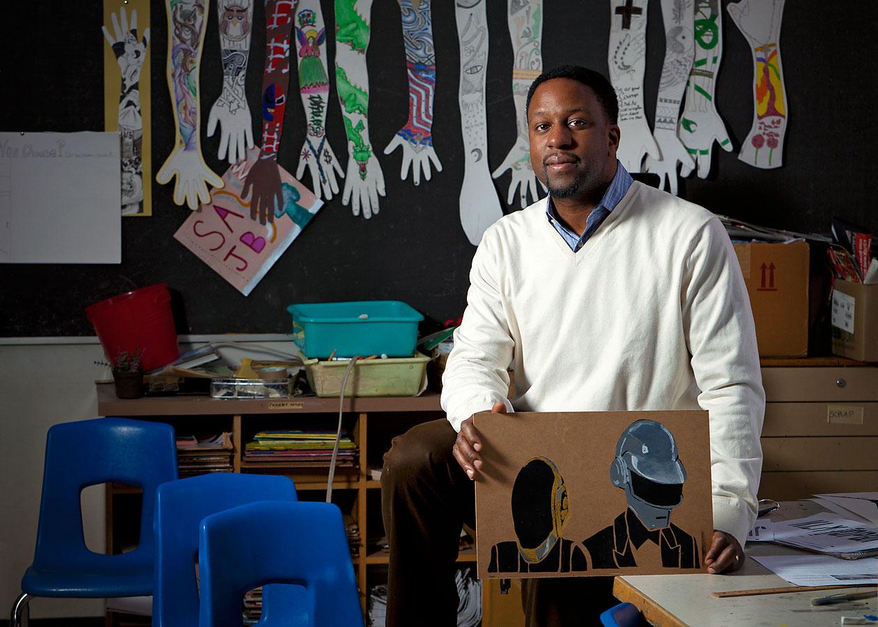 Joseph Galiwango, West End Alternative School Joseph Galiwango