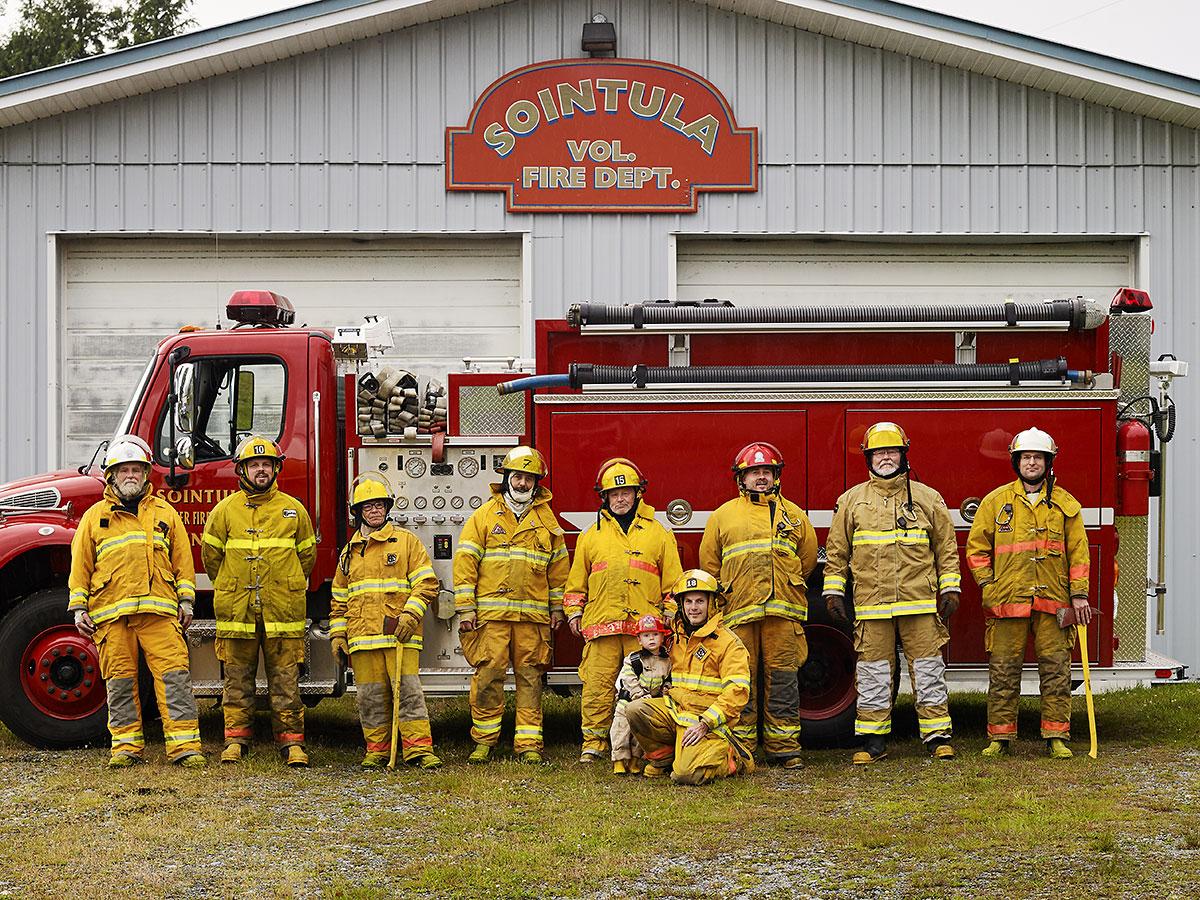 Sointula Volunteer Fire Department. Sointula, British Columbia