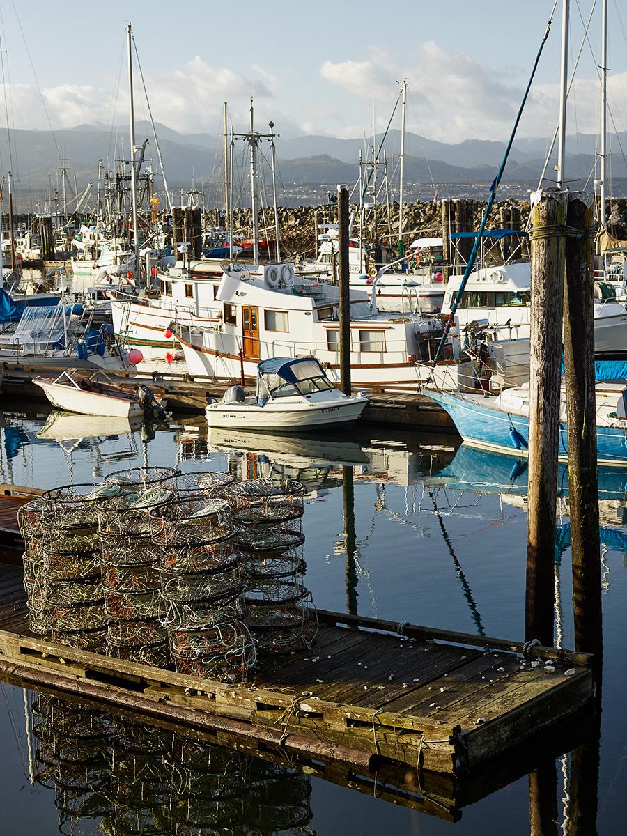 Harbour, Sointula, British Columbia